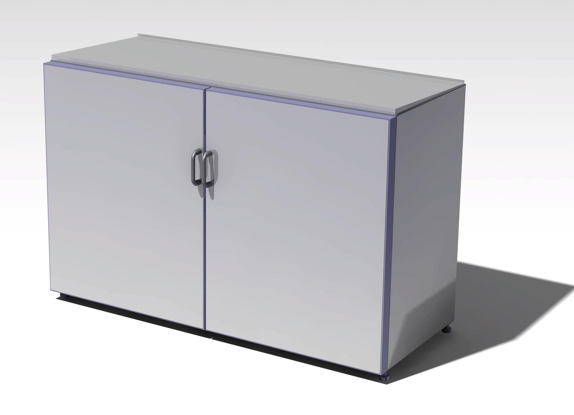 Paketbox geschlossen - Musterbeispiel