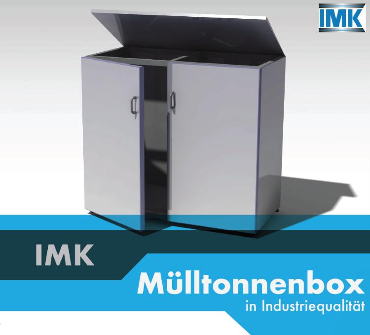 Mülltonnenbox in Industriequalität - Industriemontage Service Kronawitter Niederbayern