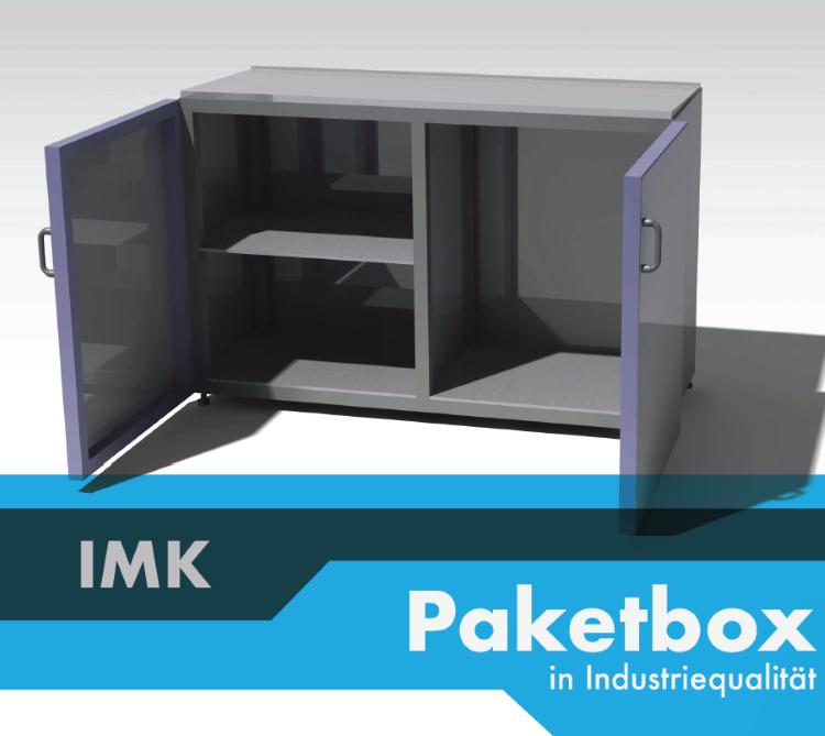 Individualisierbare Paketbox in Industriequalität